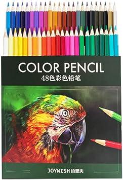 kabinga 7 Estuche de lápices Dibujo Profesional ,48 Colores numerados,Apto para niños y Adultos.,Multicolor, Unisex, 7, L: Amazon.es: Juguetes y juegos