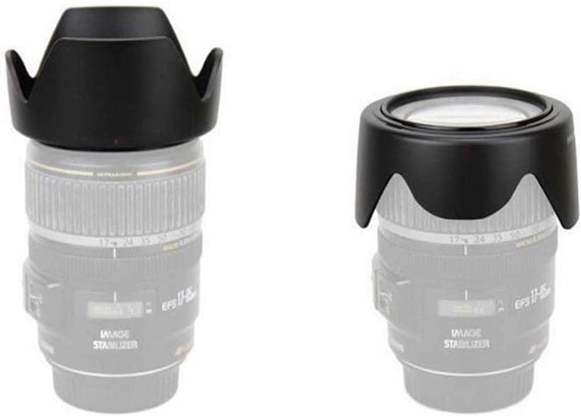 HEGGWEI EW-54 Lens Hood Shade for Canon EF-M 18-55 f//3.5-5.6 is STM Lens yangj