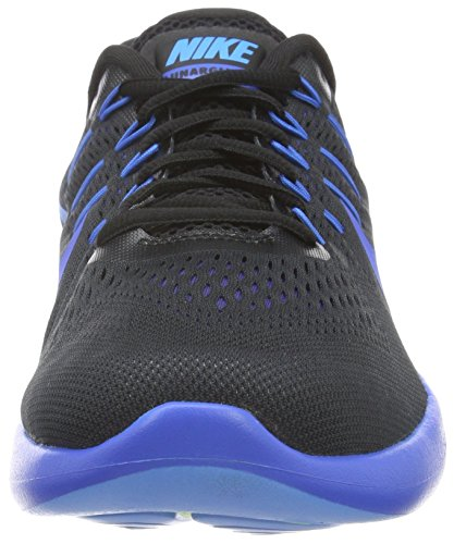 Nike Mens Lunarglide 8 Scarpe Da Corsa Nere / Multicolore - Blu Profondo