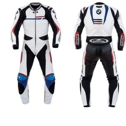 Mono de piel para moto de carreras personalizable diseño BMW ...