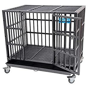 3. PARPET Heavy Duty Empire Dog Crate