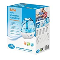 Prem-I-Air Bebe Mini Ultrasonic Humidifier Ideal For Bedrooms - Living Rooms - Children's & Babies Rooms.