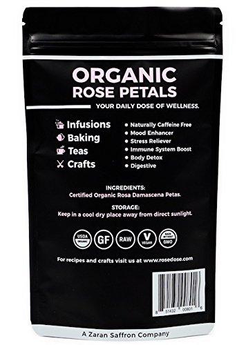 Review Rose Dose, USDA Organic