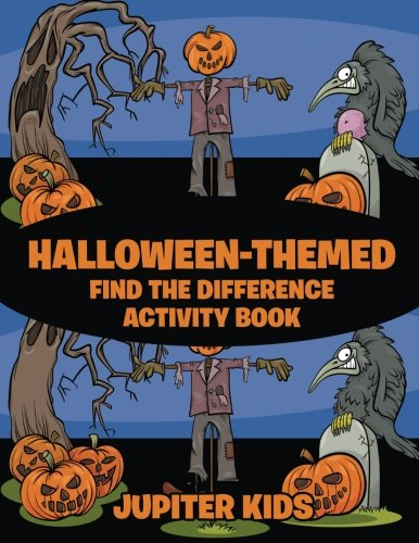 Halloween-Themed Find the Difference Activity -