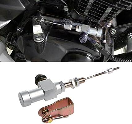 kangnice motocicleta cilindro maestro del embrague hidráulico caña de pescar Bomba de freno M10 x 1.25 mm aluminio