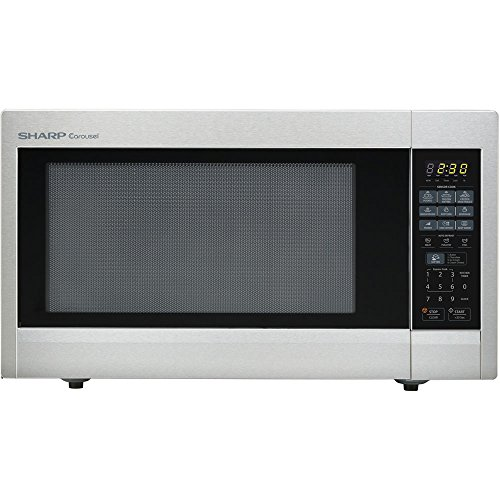 Sharp Countertop Microwave Oven ZR651ZS 2.2 cu. ft. 1200W Stainless Steel with Sensor Cooking