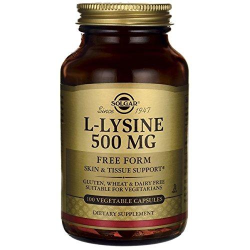 Solgar L-Lysine 500 mg, 100 Vegetable Capsules Review