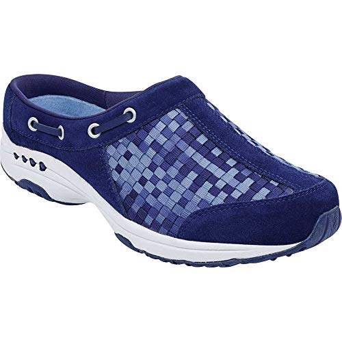 - Easy Spirit Women's, Travelport Slip On Sneakers Dark Blue 7 W
