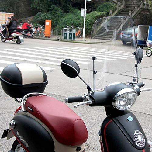 Bloomma d/éflecteur dair Pare-Brise Spoiler Extension Pare-Vent pour Moto