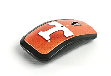 ncaa tennessee volunteers team color wireless mouse