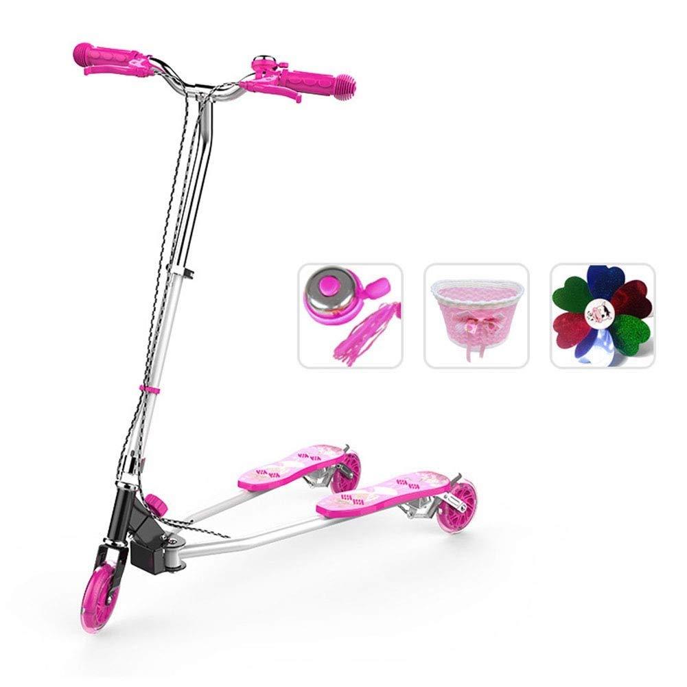 品多く スクーターを蹴る子供たち 三輪車、スイングカー ピンク)、カエルスクーター、自転車 ピンク (色 : ピンク) B07R59LW91 (色 ピンク, SEMI-STYLE:2ba23509 --- 4x4.lt