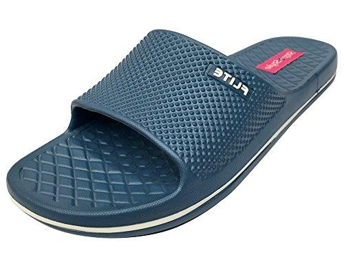 Step n Style - Zapatillas de estar por casa de Material Sintético para hombre azul azul