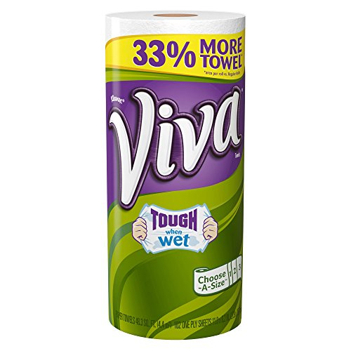 Viva Paper Towels, Choose-a-Size, Big Roll, 1 Count (Pack of 24) by Viva