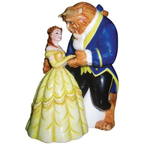 Westland Giftware Life According to Disney Princesses Beauty and the Beast Dance 4-Inch Magnetic Salt and Pepper Shakers by Westland Giftware by