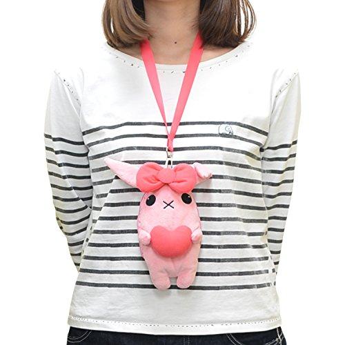 Ken Elephant Kiznaiver Plush Nico's Rabbit Smartphone Pouch 22cm x 18cm x 5cm