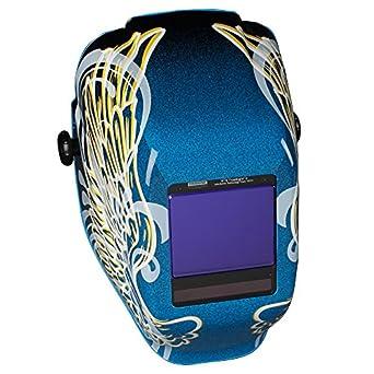 Jackson seguridad truesight II Digital Auto oscurecimiento casco de soldadura con tecnología de Balder (46111), HLX, ADF, Color dorado Alas Graphi: ...
