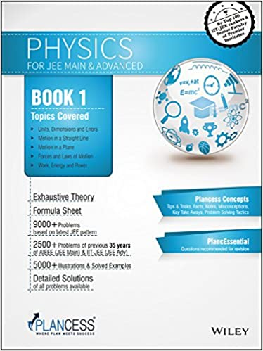 Plancess Study Material Physics for JEE, Set of 6 Books WIND: Amazon
