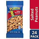 Planters Salted Peanuts, 1 oz Single Serve Bag (Pack of 24)