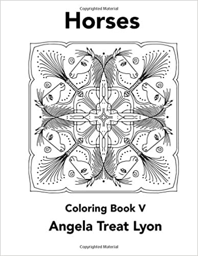 Download Ebooks Free Horses Coloring Book V PDF