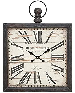 deco 79 metal wall clock 32 by 24inch