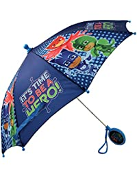 Boys' Little Character Rainwear Umbrella, Dark Blue, Age 3-6