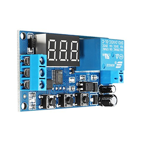 24V Adjustable Pulse Trigger Delay Cycle Timer Delay Switch Relay Control Module - Arduino Compatible SCM & DIY Kits by Davitu Module Board (Image #7)
