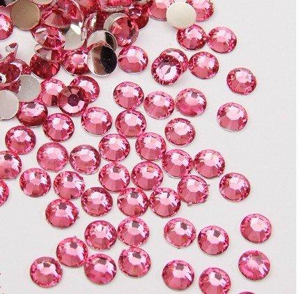 Pink Acrylic Rhinestone - 4