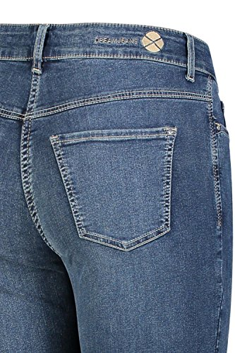 Straight Amc Authentic Dream blue Wash Blau Jeans D626 Donna wBBFUx