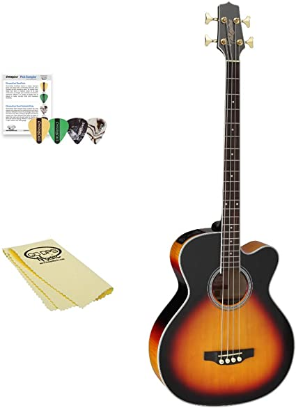 TAKAMINE gb72ce BSB Jumbo guitarra acústica bajo eléctrico, negro ...