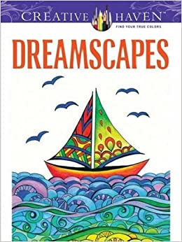creative haven dreamscapes coloring book adult coloring - Creative Haven Coloring Books
