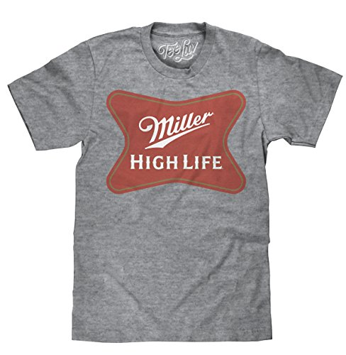 Miller High Life | Soft Touch Tee- MD,Grey
