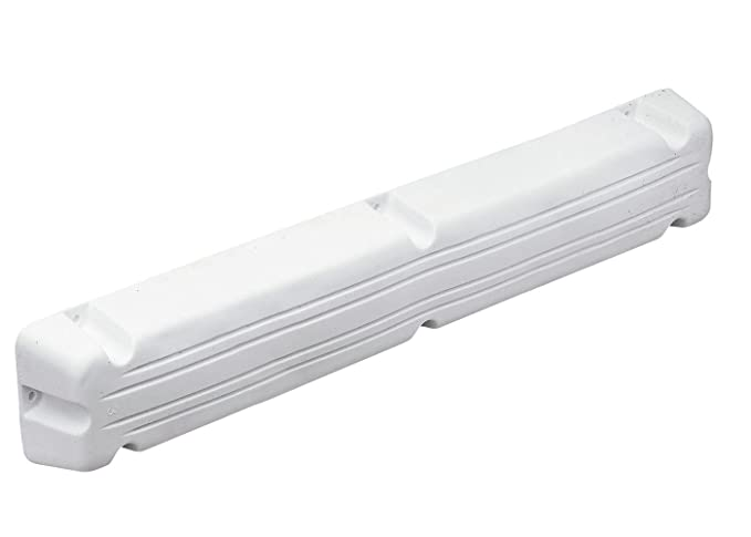 Pontonfender 50 x 12 x 7 cm weiß