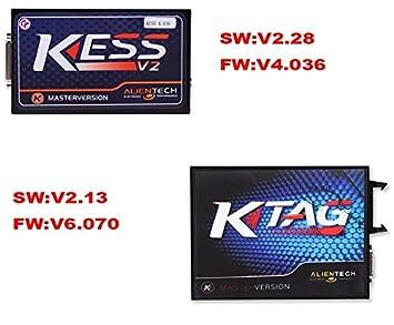 Complete Set KTAG v2 13 ECU Programmer + v2 30 Kess V2 V4