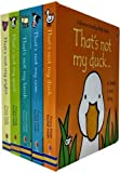 Thats Not My Farm Animals Collection Usborne Touchy-Feely 5 Books Set (Thats Not My Lamb, Duck, Cow, Piglet, Goat)