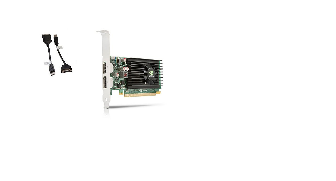 HP Tarjeta gráfica Quadro NVS 310 - 512 MB DDR3 SDRAM - PCI ...