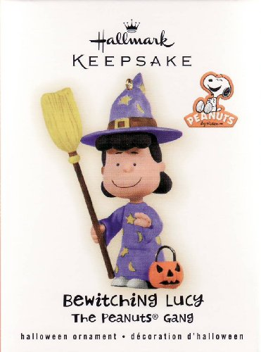 Hallmark 2009 Bewitching Lucy Peanuts Gang Halloween
