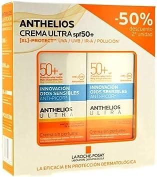 Anthelios Protector Solar Crema Ultra Spf50+, 50ml. PACK 2UN.: Amazon.es: Salud y cuidado personal