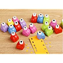 1 x Cute Handmade Craft Paper Punches Hole Shapers Small Puncher DIY Gift (Flower)