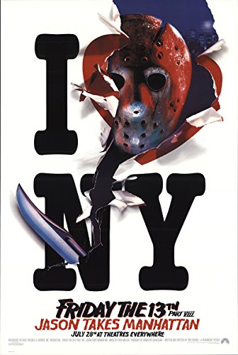 Friday the 13th Part VIII 1989 Authentic 27