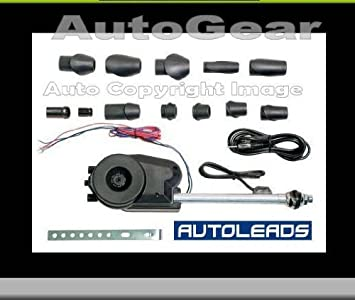 12v Car Universal Stainless Steel Electric Automatic Wing Mount Aerial