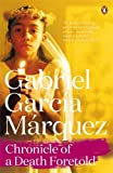 Front cover for the book Chronicle of a Death Foretold by Gabriel Garcia Marquez