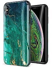 "GVIEWIN Marble iPhone Xs Case/iPhone X Case, Ultra Slim Thin Glossy Soft TPU Rubber Gel Phone Case Cover Compatible iPhone X/iPhone Xs 2018, 5.8"""