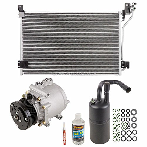 A/C Kit w/AC Compressor Condenser & Drier For Mercury Grand Marquis - BuyAutoParts 60-82496CK New