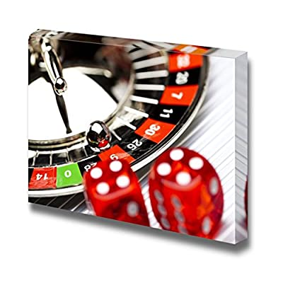 Roulette Wheel Casino - Canvas Art