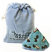 Pee-pee Teepee Weiner Dog Blue - Laundry Bag