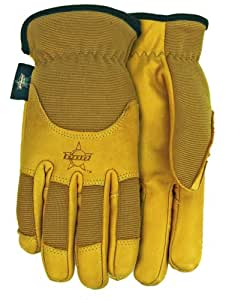 PBR Smooth Grain Cowhide Leather Work Gloves, PB103