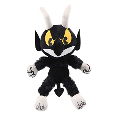 Cuphead Plush Toy Doll Game Cuphead Stuffed Toys Children (Devil): Home & Kitchen
