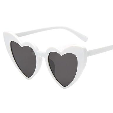 Rawdah Gafas en forma de corazón, gafas de sol en forma de ...