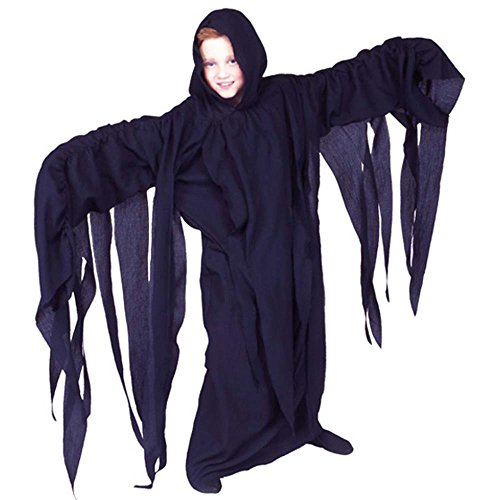 Kid's Thrilling Ghoul Robe Halloween Costume (Size: Small -