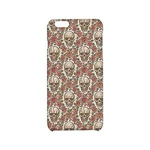 iPhone 6 Plus case SKULL plastics Hard Case for iPhone 6 Plus(5.5h)